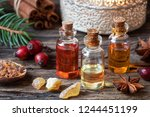 christmas collection of... | Shutterstock . vector #1244451199