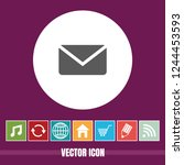 very useful vector icon of mail ...