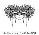 symbol of erotica and... | Shutterstock .eps vector #1244467360