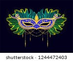 colorful illustration for... | Shutterstock .eps vector #1244472403