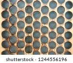 abstract pastel tones wonderful ... | Shutterstock . vector #1244556196