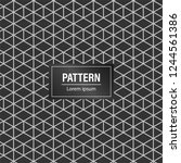 minimal geometric pattern... | Shutterstock .eps vector #1244561386