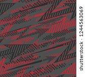 abstract seamless arrows... | Shutterstock .eps vector #1244563069