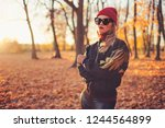 outdoors lifestyle fashion...   Shutterstock . vector #1244564899