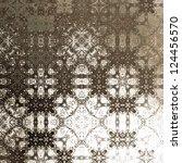 art vintage damask seamless... | Shutterstock . vector #124456570