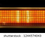 portable electric halogen...   Shutterstock . vector #1244574043
