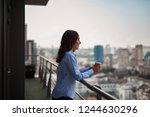 corporate time out. waist up...   Shutterstock . vector #1244630296