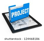 business project concept | Shutterstock . vector #124468186