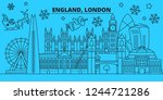 great britain  london city... | Shutterstock .eps vector #1244721286