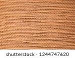 Tan Textured Bamboo Fabric...