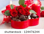 Red Roses  And Chocolate...