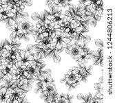 abstract elegance seamless... | Shutterstock .eps vector #1244806213