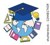 education supplies school | Shutterstock .eps vector #1244817439