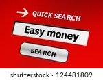 easy money | Shutterstock . vector #124481809
