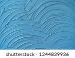 rough old blue stone wall... | Shutterstock . vector #1244839936