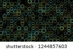 abstract background pattern... | Shutterstock . vector #1244857603