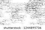 grunge watercolor dry brush... | Shutterstock .eps vector #1244895736