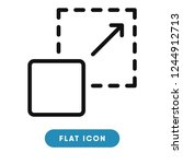 scalability vector icon | Shutterstock .eps vector #1244912713