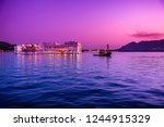 the lake palace initially... | Shutterstock . vector #1244915329