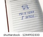 the inscription 2019 this year... | Shutterstock . vector #1244932333