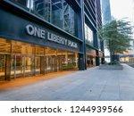 new york   sep 2017  one... | Shutterstock . vector #1244939566
