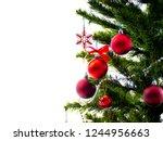 Composition big christmas tree...