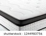 closeup background of mattress | Shutterstock . vector #1244983756