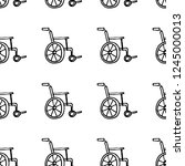 seamless pattern hand drawn... | Shutterstock .eps vector #1245000013