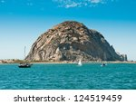 Morro Rock In Morro Bay ...