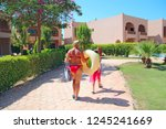 hurghada egypt. 31 july 2018 ... | Shutterstock . vector #1245241669