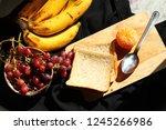 conceptual still life... | Shutterstock . vector #1245266986