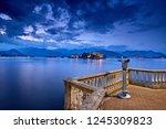 view of lago maggiore  stresa... | Shutterstock . vector #1245309823