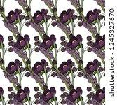 pattern of flowers. postcard ...   Shutterstock .eps vector #1245327670