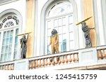 figueras  girona  spain  ... | Shutterstock . vector #1245415759