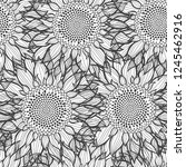 seamless pattern with... | Shutterstock .eps vector #1245462916