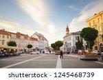 vilnius  lithuania   may 6 ... | Shutterstock . vector #1245468739
