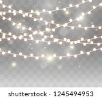 christmas bright  beautiful... | Shutterstock .eps vector #1245494953