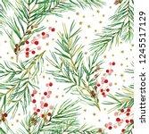 Christmas Seamless Pattern ...
