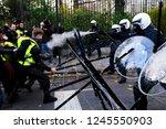 brussels  belgium. 30th... | Shutterstock . vector #1245550903