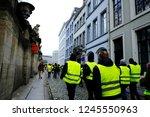 brussels  belgium. 30th... | Shutterstock . vector #1245550963