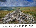 great shunner fell is the third ... | Shutterstock . vector #1245551830