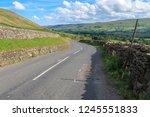 great shunner fell is the third ... | Shutterstock . vector #1245551833