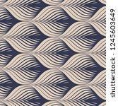 geometric vector pattern ...   Shutterstock .eps vector #1245603649