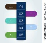timeline infogrfphic  great...   Shutterstock .eps vector #1245675670