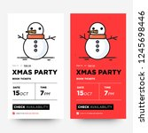 xmas party book dates ux and ui ...