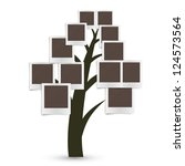 family tree design  insert your ... | Shutterstock .eps vector #124573564