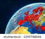 oecd european members on... | Shutterstock . vector #1245768646