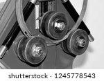 industrial machine for bending...   Shutterstock . vector #1245778543