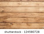big brown wood plank wall... | Shutterstock . vector #124580728