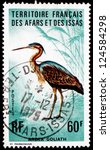 Small photo of AFARS AND ISSAS - CIRCA 1975: a stamp printed in Afars and Issas shows Goliath Heron, Ardea Goliath, Bird, circa 1975